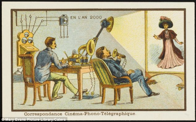 Skype imagined over 100 years ago