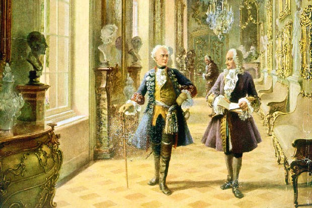 Frederick the Great and Voltaire