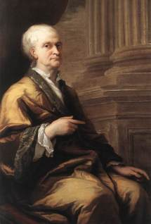 Sir Issac Newton painted by James Thornhill, 1709–12
