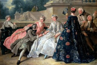 Women%u2019s-fashion-in-Western-Europe-in-1730–1750